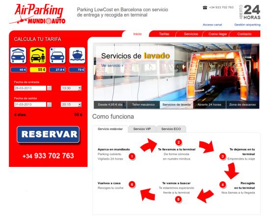 ParkingAeropuertoLowCost